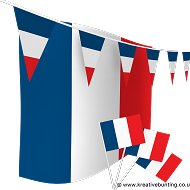 France Bunting and Flags Bundle